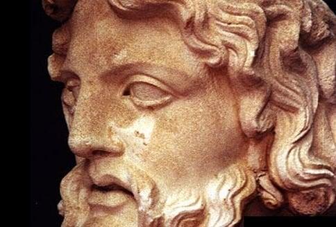 Zeus.. Yunan mitolojisinde tanrıların kralı.