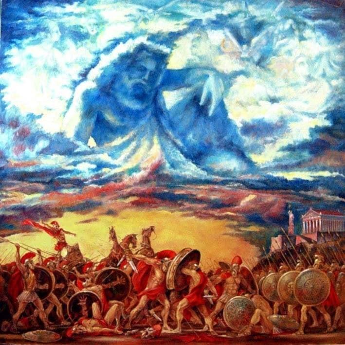 Zeus - Olimpos - Truva Savaşı