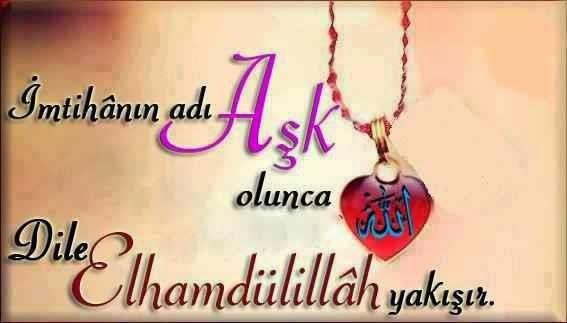 Allah'ım ben bu kulunu sevdim...Onu bana bir ömürlük borç verir misin...