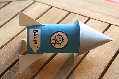 Rulodan roket nasıl yapılır