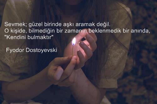 Dostoyevski resimli sözleri