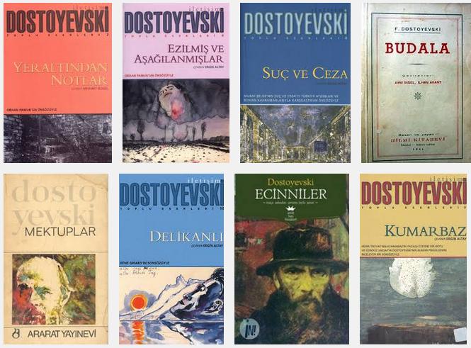 <h3><strong>Dostoyevski eserleri (klasikler)</strong></h3>