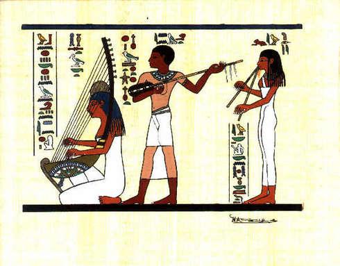 Eski mısırda müzik