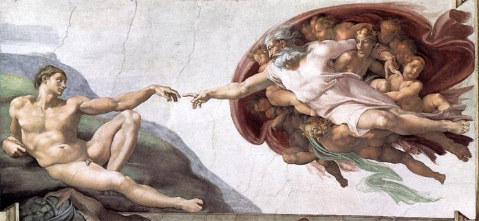 Michelangelo,Adem'in Yaratılışı,1507