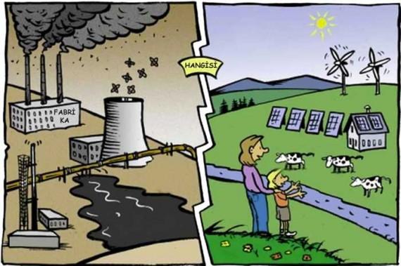 Doğal kaynaklarımız tükenirse dünyamız nasıl olur sizce hangisi ?