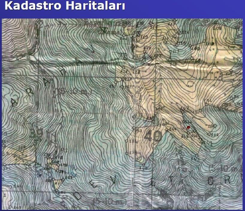 Kadastro Haritası Örneği