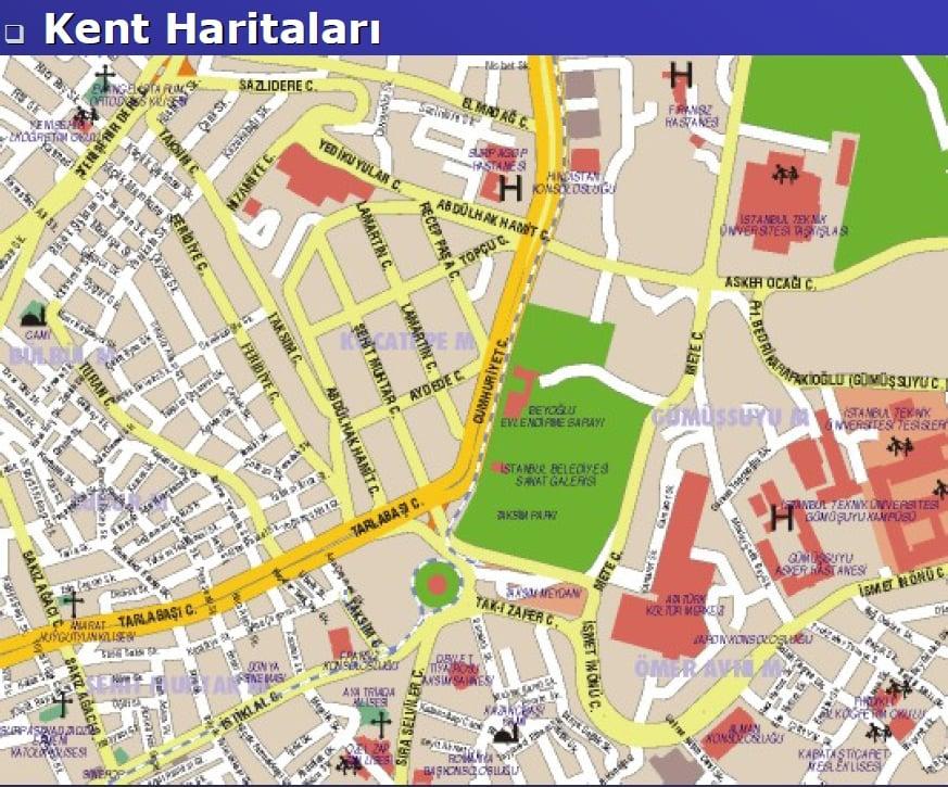 Kent Haritası Örneği