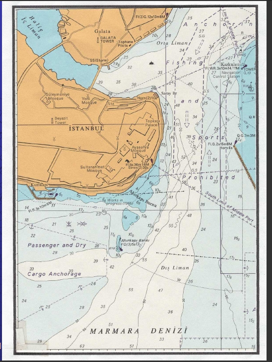 Deniz Haritası Örneği