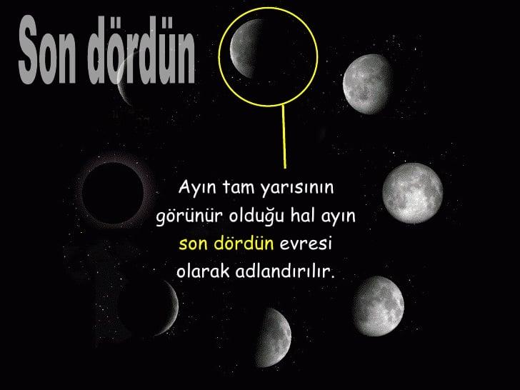 Ayın son dördün evresi