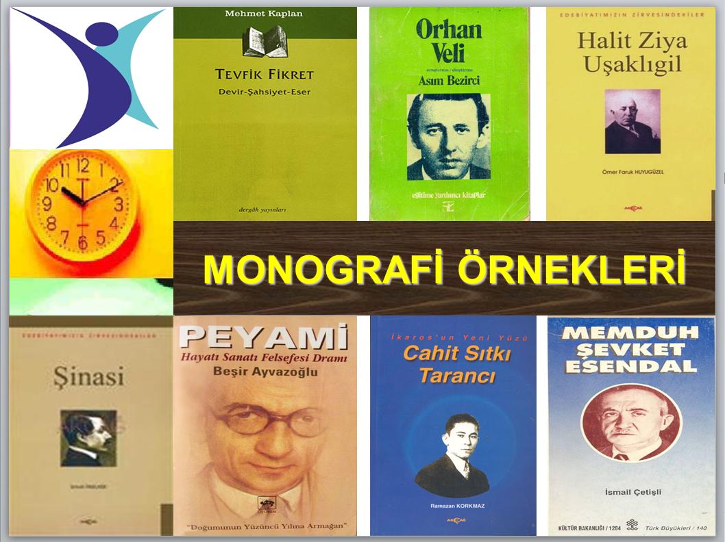 Monografi Örnekleri