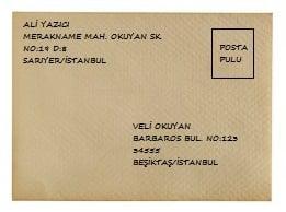 Mektup Zarfı Nasıl Yazılır