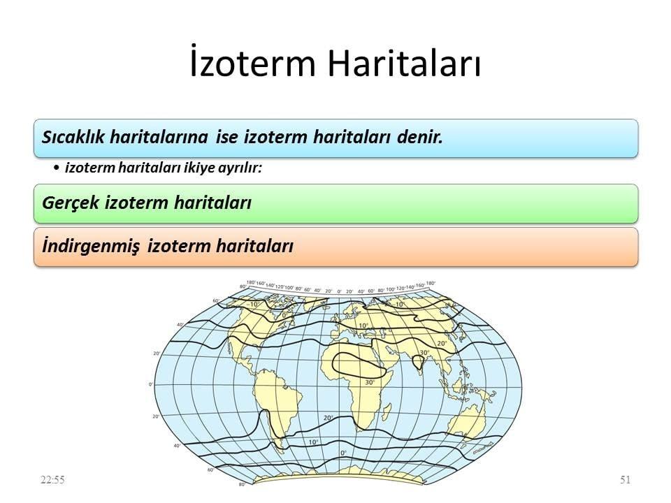 İzoterm Haritaları