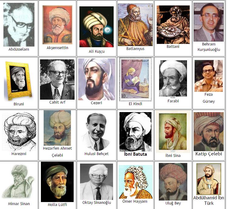 Türk Bilim Adamları