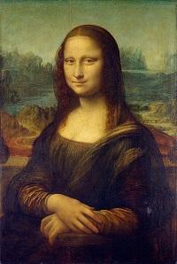 leanardo da vinci nin En önemli eserlerinden birisidir.Mona Lisa,en güzel elli kadın olarak bilnir.bu resim pek çok yeniliğin öncüsüdür..