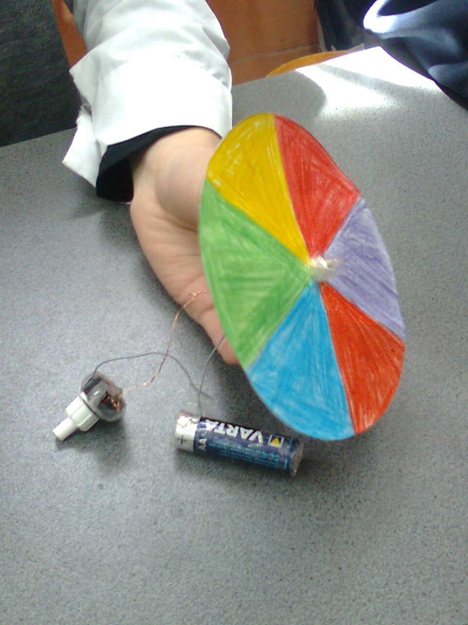 Renk Çarkı Nasıl Yapılır
