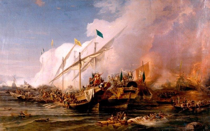 Preveze Deniz Savaşı Resimleri