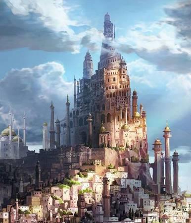"""Rivayetlere göre kale, Deylem krallarından biri tarafından inşa edilmiştir. Kral, kartalını salmış ve kartalın konduğu yere bir kale yaptırmıştır. Bu nedenle Alamut Kalesi'ne """"Kartal Yuvası (Öğretisi)"""", bazı kaynaklara göre de """"Cezalandırma Yuvası"""" denilmektedir."""