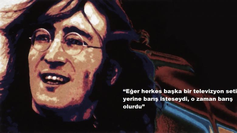 John Lennon Resimli Sözleri
