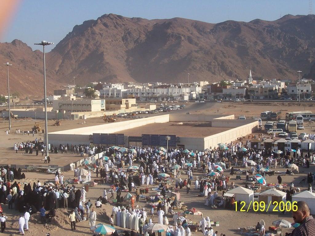 Medine'de Uhut Şehitliği