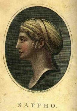 Sappho Portre