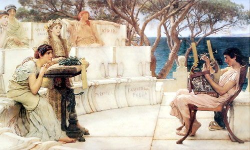 Sappho ve Alcaeus