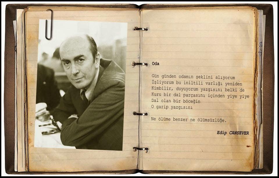 Edip Cansever Oda resimli şiiri