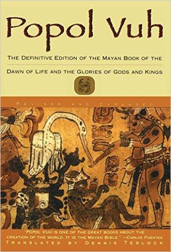 Mayaların Kutsal Kitabı Popol Vuh Kitap Kapağı