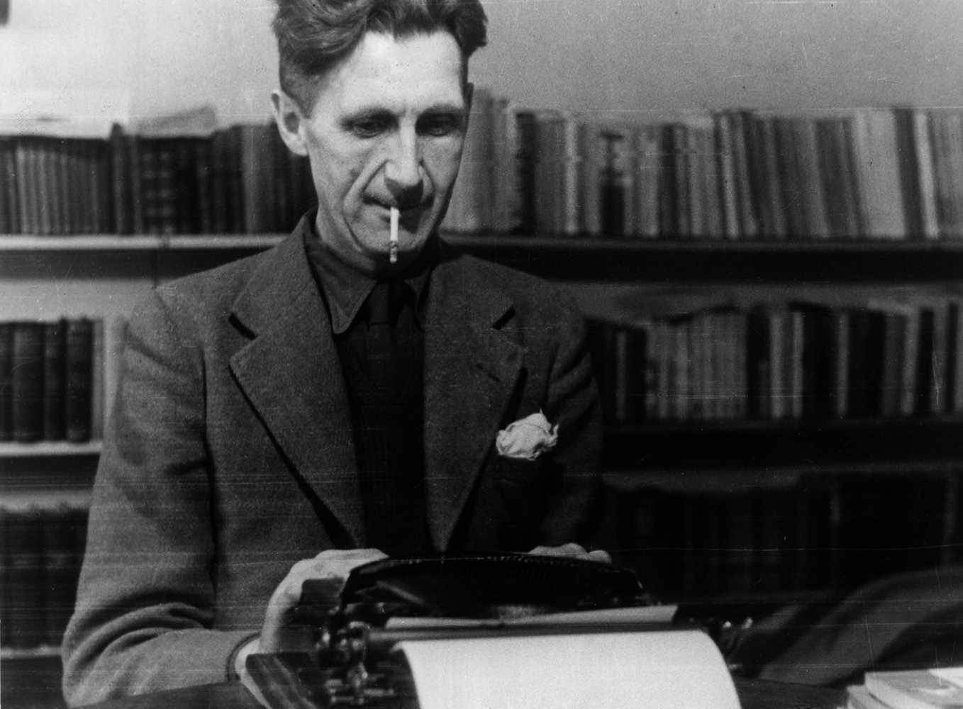 George Orwell Portre