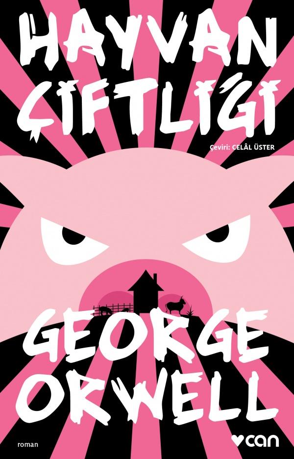 Hayvan Çiftliği George Orwell Kitap Kapağı