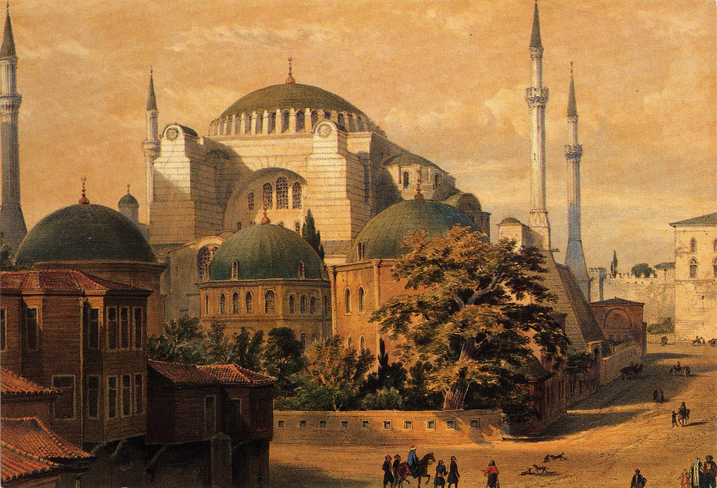 hagia sophia müzesi (kutsal bilgelik)