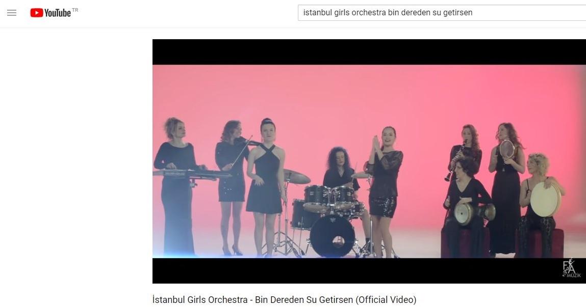 youtube com - istanbul girls orchestra - bin dereden su getirsen