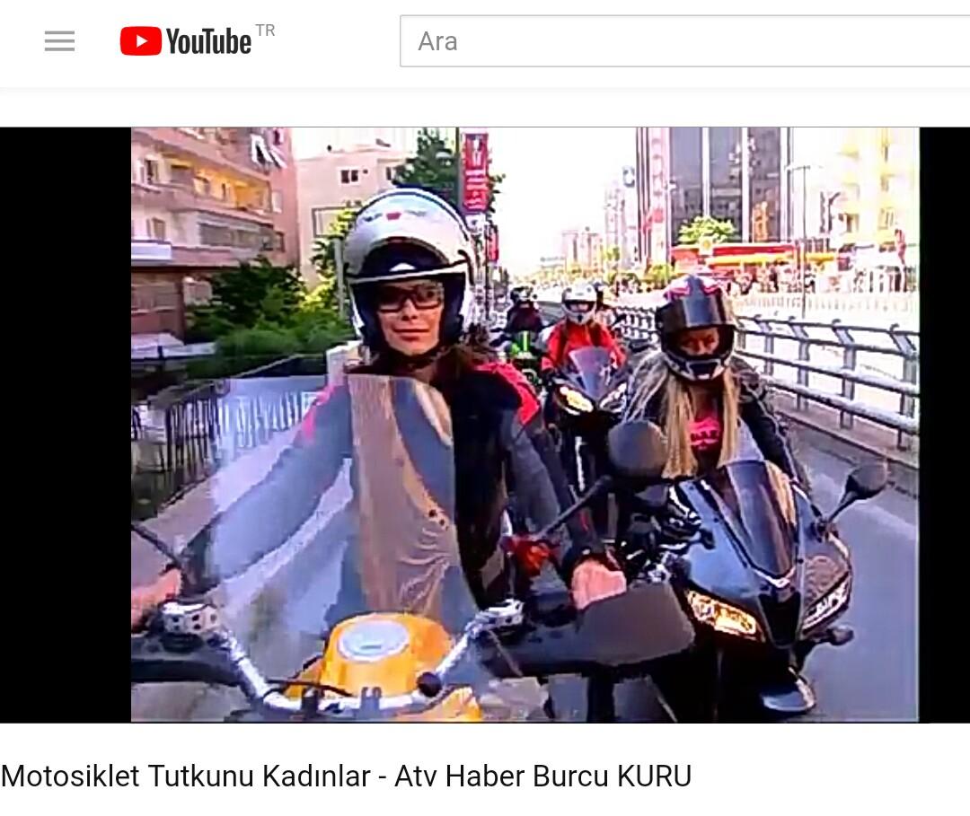 motosiklet tutkunu kadınlar