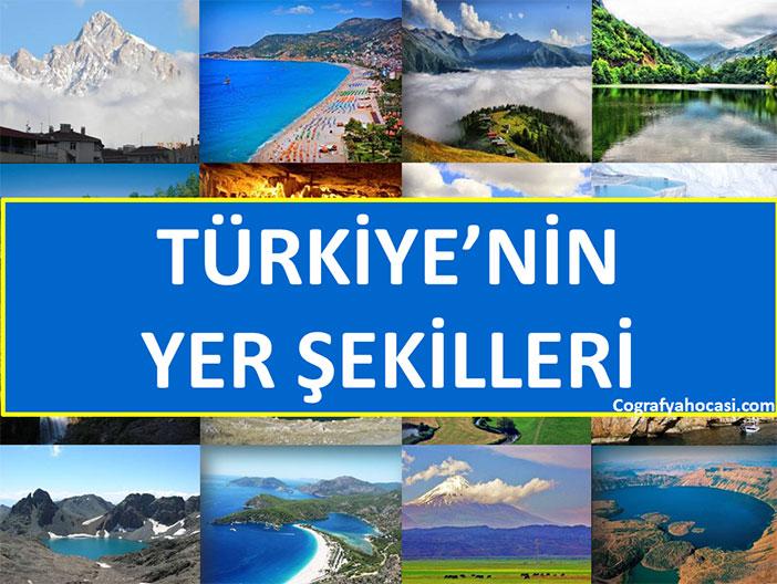 Türkiye'nin Yüzey Şekilleri