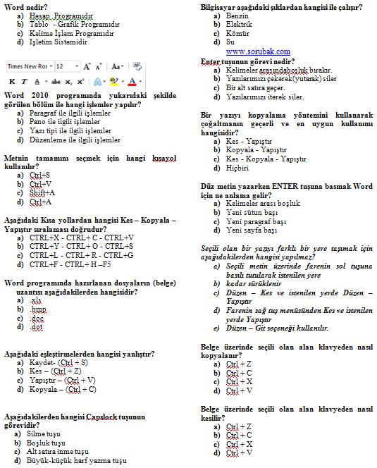 5.sınıf 2.dönem 1.yazılı Bilişim Sınavı Slaytı Ön Kapak
