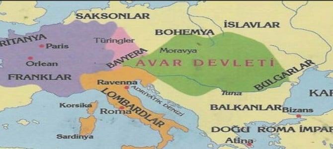 İstabulu ilk Avar Türkleri kuşatmıştır.
