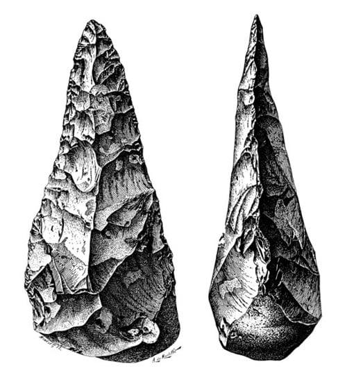 Paleolitik Çağ Taş Aletleri