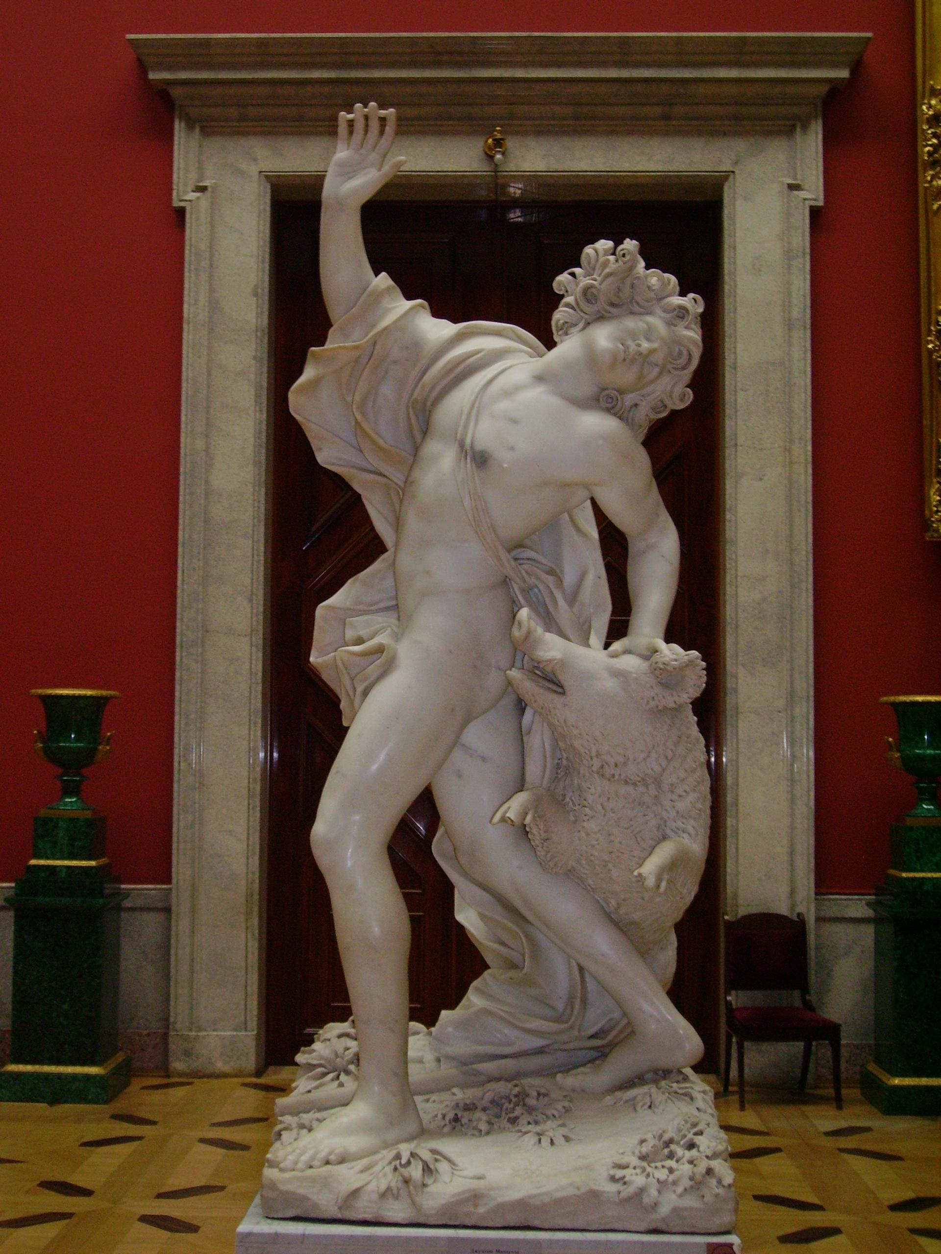 Giuseppe Mazzuoli - The Death of Adonis - hermitag