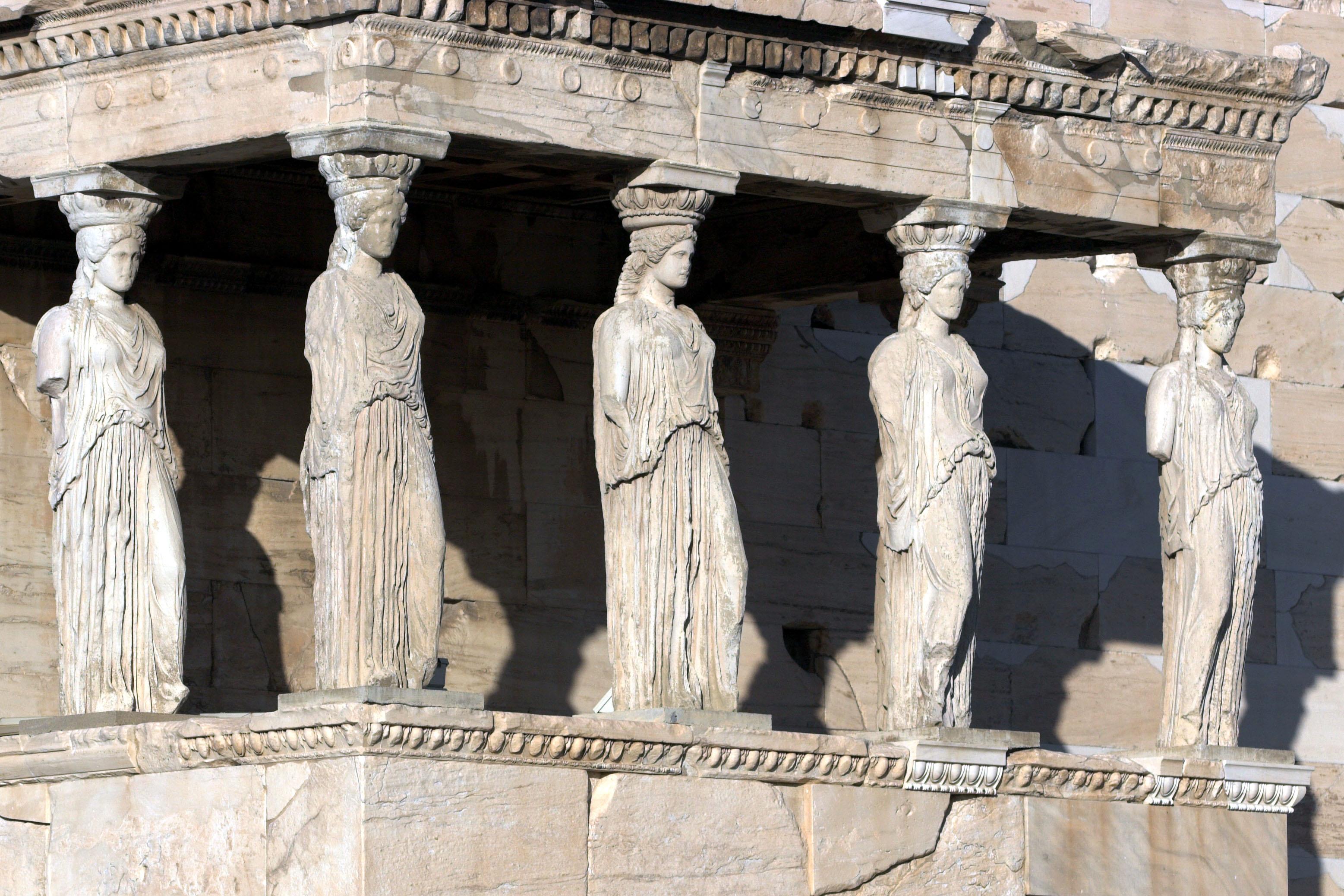 Erechtheum tapınağında