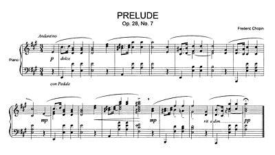 Chopin Prelude No:7