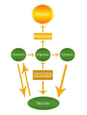 Bilimsel Yöntem Şeması