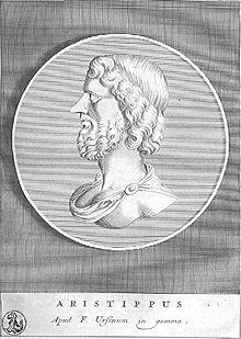 Kirene Okulunun kurucusu Aristippos