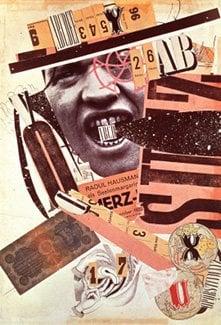 Raoul Hausmann ABCD (Self-portrait)Dadaizm