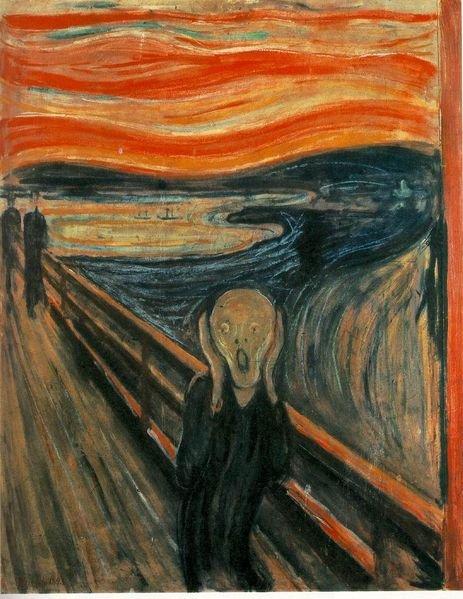 Edward Munchun Çığlık tablosu