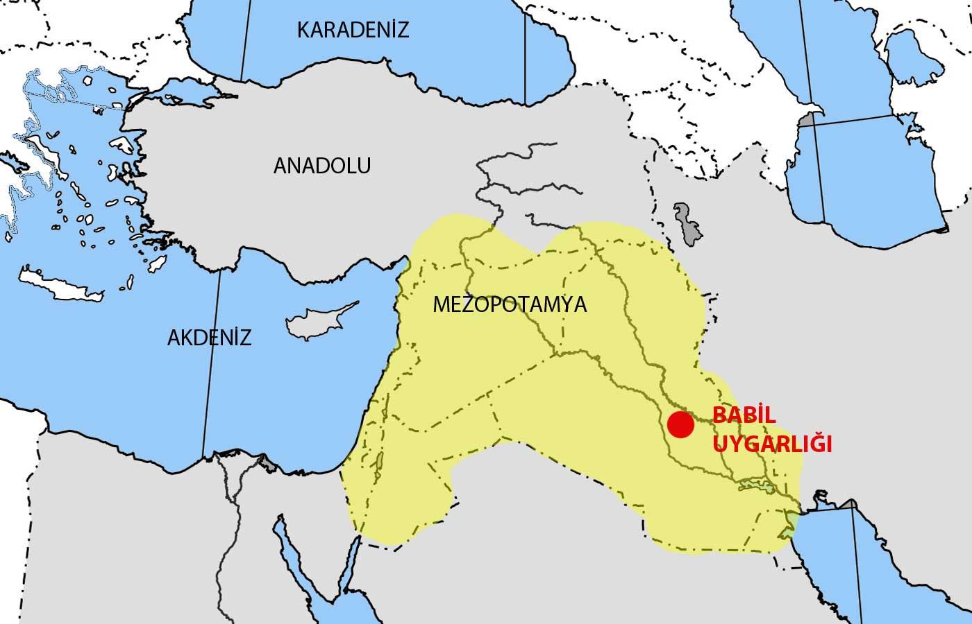 Mezepotamya Haritası