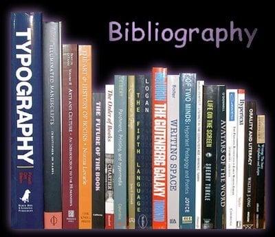 Bibliyografya Nedir