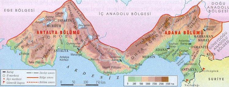 Akdeniz Bölgesi Dağları