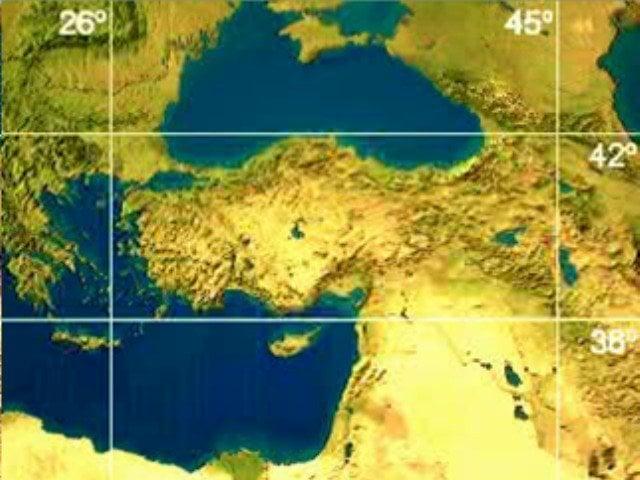 Türkiyenin Matematiksel Konumu