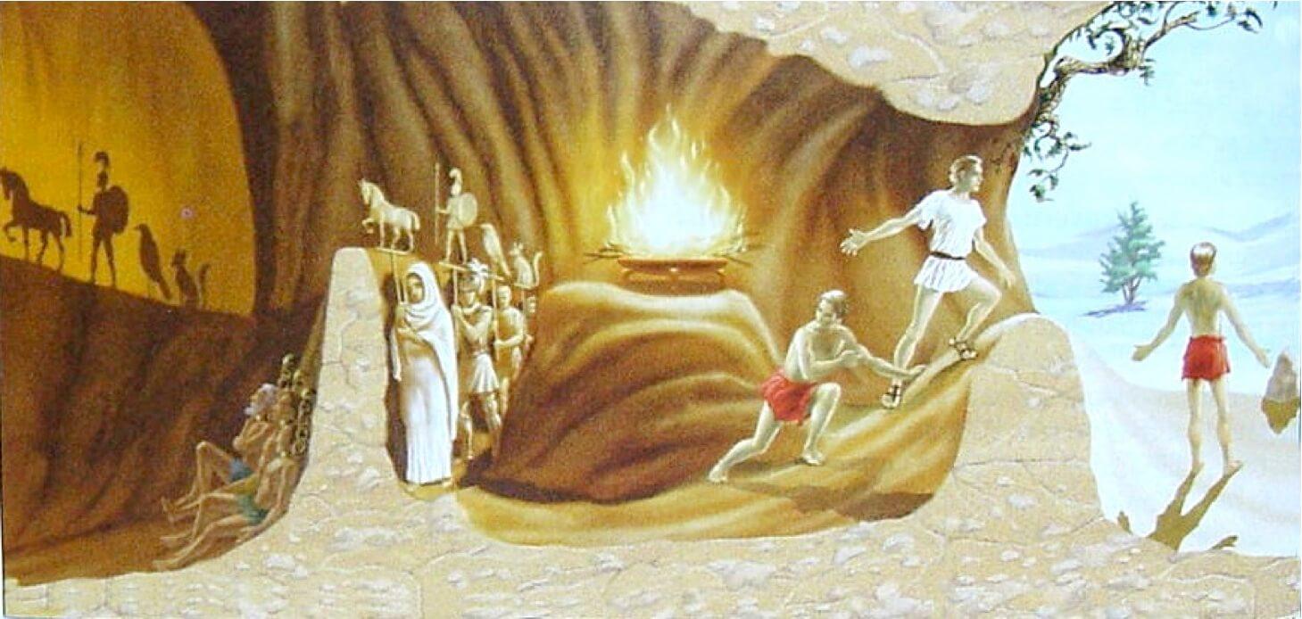 Platonun Mağara BenzetmesiCanlandırma