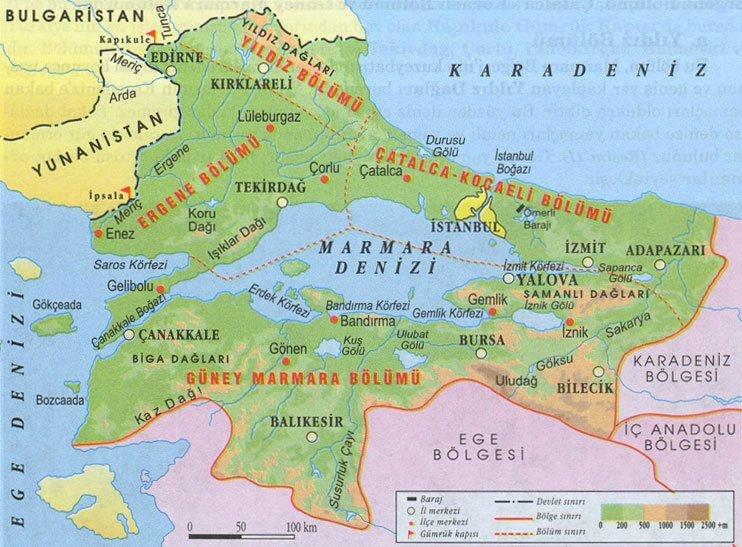 Marmara bölgesinde insanların yaşayış biçimleri