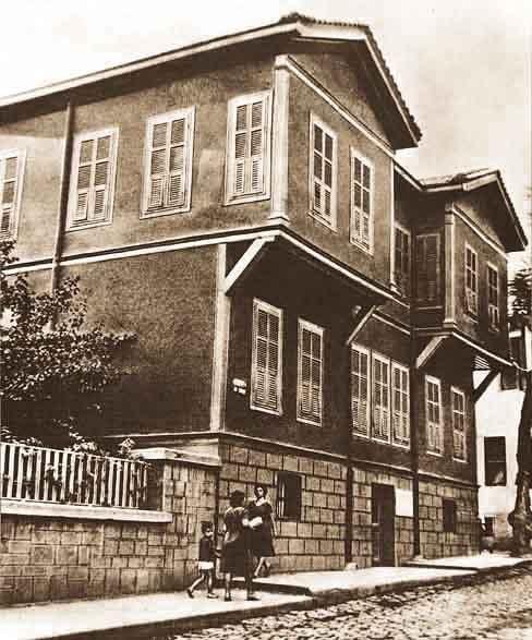 Atatürkün Doğduğu Pembe Köşk Selanik